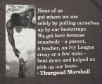 Thurgood Marshall Legal Society...